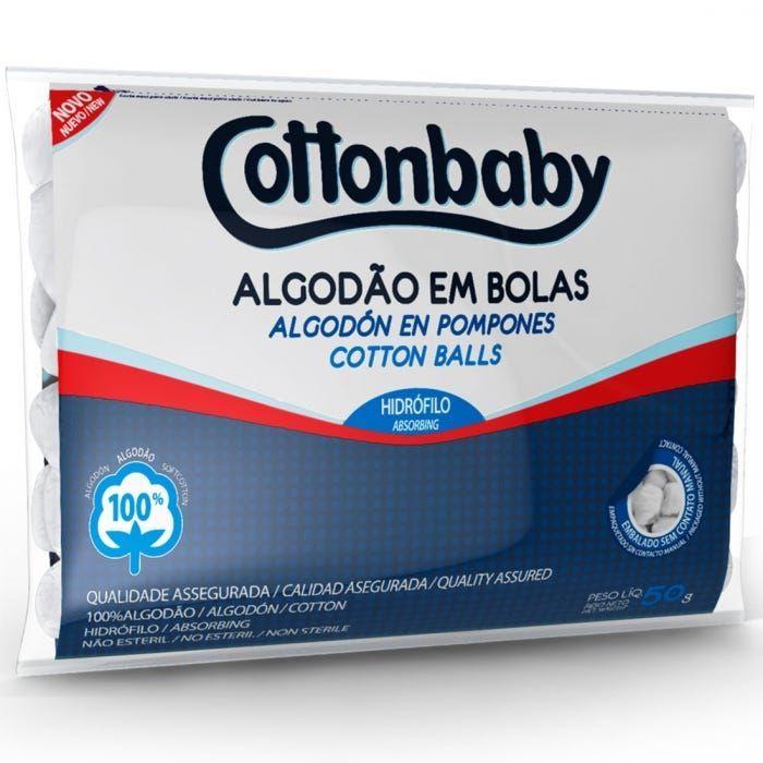 Bola de Algodão CottonBaby 50g