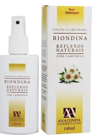 Clareador Anaconda Biondina Reflexos Naturais - 140ml