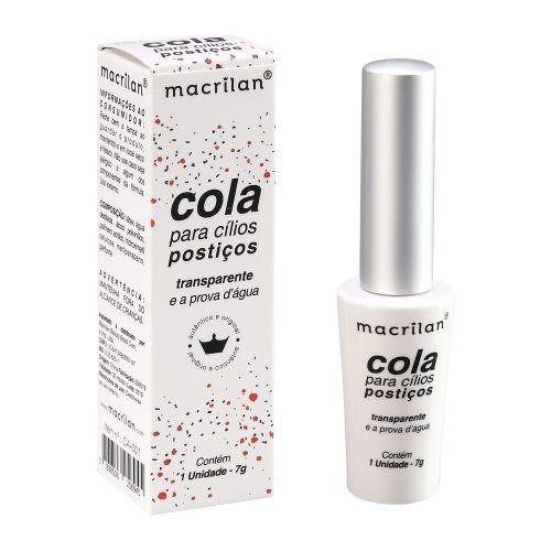 Cola para Cílios Postiços Transparente CA-001 Macrilan