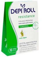 DepiRoll Folhas Prontas Corporal Algas (16 Folhas)