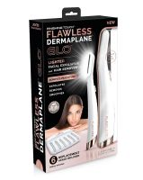 Flawless Dermaplane Aparador de Sobrancelha/Depilador Facial