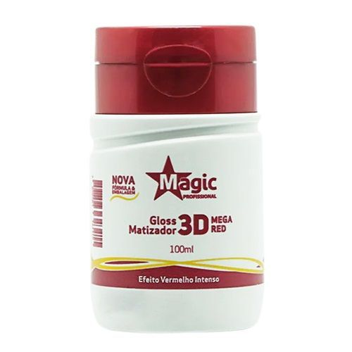 Magic Color Gloss Matizador 3D Mega Red - 100ml