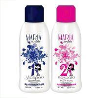Maria Escandalosa Progressiva 300ml Termo Ativada (Shampoo Passo 1 + Máscara Passo 2)