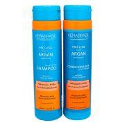 KeraBrasil - Kit Shampoo 300ml + Condicionador 300ml (Pró Liso Argan)
