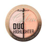 Ruby Rose Duo Glow HB7522 - Cor 03 Golden Rose