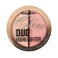 Ruby Rose Duo Glow HB7522 - Cor 04 Golden Bronze