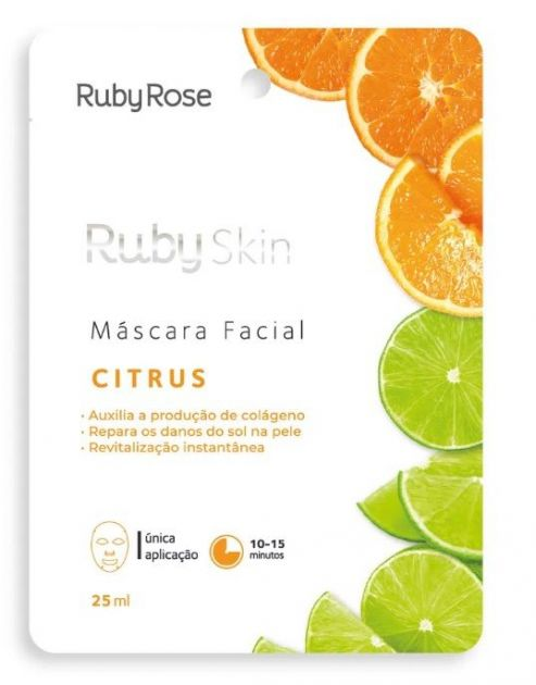 Ruby Rose Máscara Facial (Citrus)